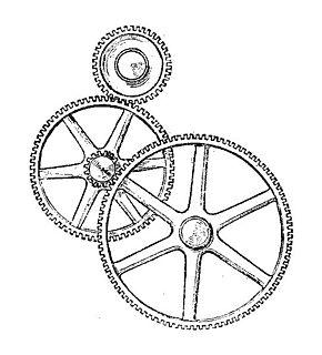 Gear train Mechanical transmission using multiple gears.