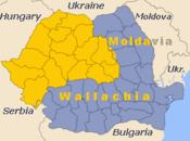 A Transilvânia / Transilvania (em amarelo) no mapa da Romênia
