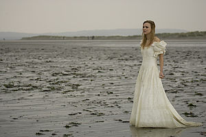 """Trash the dress - Example from a """"trash the dress"""" shoot on a beach"""