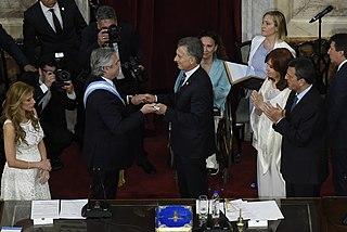 2019 Argentine presidential inauguration