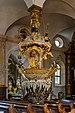 Traunkirchen Pfarrkirche Mariä Krönung Fischerkanzel-0409.jpg