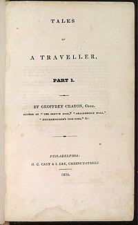 Tales of a Traveller cover