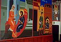 Trebisov Basilian monastery Jesus Christ frescoes 1999a.jpg