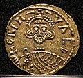 Tremisse di grimoaldo III duca con carlo re dei franchi, benevento 788-792, 01.jpg