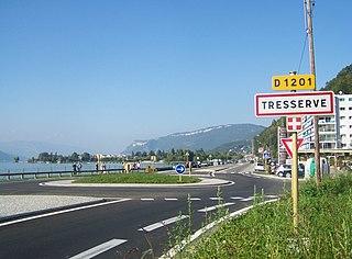 Tresserve Commune in Auvergne-Rhône-Alpes, France