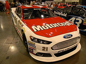 2013 NASCAR Sprint Cup Series - The sixth-generation NASCAR Ford Fusion, introduced for the 2013 season.