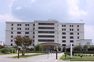North Charleston, South Carolina - Trident Regional Medical Center, main building, 2010