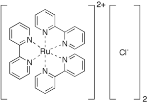 Polypyridine complex - Tris(bipyridine)ruthenium(II) is the preeminent example of a polypyridine complex.