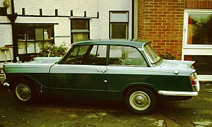 Triumph Herald 1200 side shot