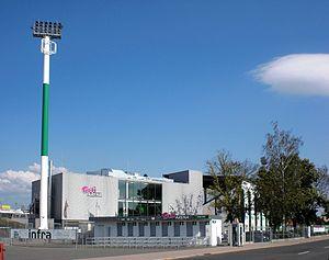 Ronhof Außenansicht Des Stadions 2017