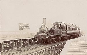 Trumpers Crossing Halte railway station - Image: Trumpers Crossing Halte (postcard)