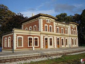 Trzebnica - Train station