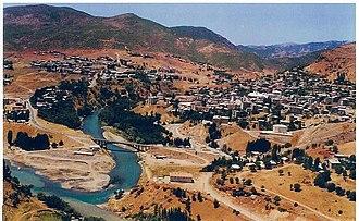 Tunceli - Tunceli in Munzur valley