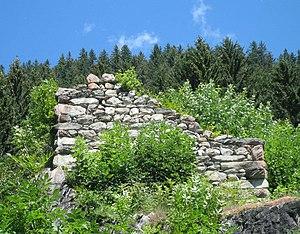Ruine des Turmes