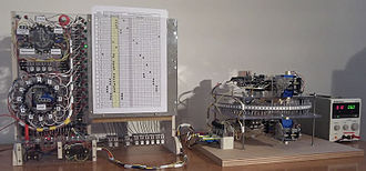 Turing machine - An experimental prototype of a Turing machine