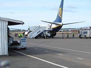 Turku airport T2 Ryanair.JPG