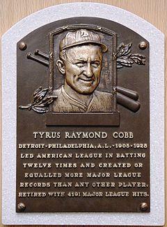 Ty Cobb Wikipedia La Enciclopedia Libre
