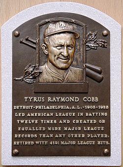 Ty Cobb - Wikipedia, the free encyclopedia