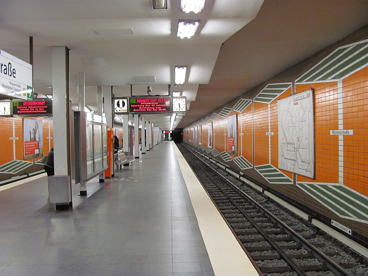ritterstra e hamburg u bahn station wikipedia. Black Bedroom Furniture Sets. Home Design Ideas