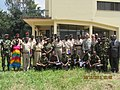 U.S. Army Col. Jonathon McGraw and Maj. Allen, both chaplains with the U.S. Africa Command, pose for a photo with Burundian civilians and military forces during a five-day training symposium in partnership with 111222-A-DI966-001.jpg