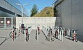 U2 Station Hausfeldstraße - bike racks 04.jpg