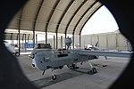 UAV MQ-5B Hunter launch and recovery at Kandahar Airfield 150806-N-SQ656-801.jpg