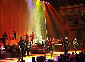 UB40 on stage in their home city of Birmingham, England in 2010