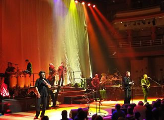 Duncan Campbell (UB40) - UB40 in 2010 with Duncan Campbell (2nd right)