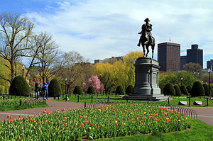 Public Garden (Boston) - Statue of George Washington