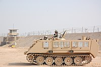 USAF M113 APC at Camp Bucca, Iraq.jpg