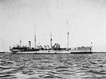 USS Brazos (AO-4) and USS Abbot (DD-184) at Guantanamo Bay in January 1920.jpg