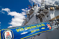 USS Chosin (CG-65) at International Fleet Review 2013 Open Day.jpg