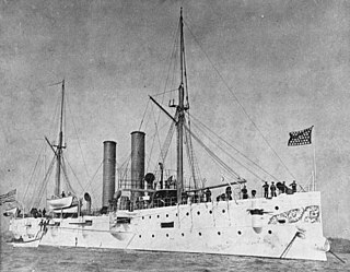 United States Navy cruiser which operated in the Caribbean prior to World War I