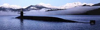 Cruise missile submarine - USS Florida (SSGN-728), an Ohio-class submarine