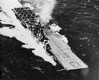 USS <i>Franklin</i> (CV-13) Essex-class aircraft carrier of the US Navy