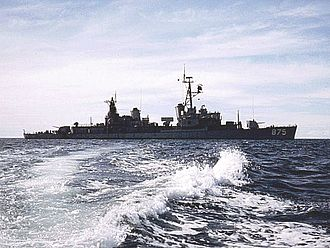 USS Henry W. Tucker - USS Henry W. Tucker at anchor at An Thoi, Vietnam.