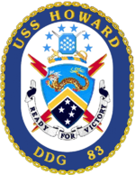 USS Howard DDG-83 Crest.png