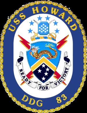 USS Howard (DDG-83) - Image: USS Howard DDG 83 Crest