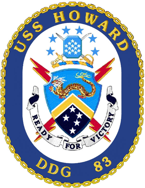 USS Howard DDG-83 Crest