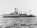 USS Memphis (CL-13) off New York City on 2 November 1942 (19-N-38615).jpg