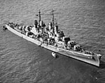 USS San Juan (CL-54) off Norfolk, Virginia (USA), on 3 June 1942 (19-N-31525).jpg
