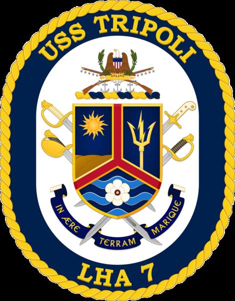 File:USS Tripoli (LHA-7) Crest.png