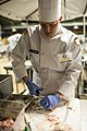 US Army Reserve Culinary Arts Team serves three-course meal to guest diners 160310-A-XN107-031.jpg