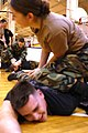 US Navy 031218-N-8937A-214 Sailors practice hand-to-hand combat during training exercise held aboard U.S. Naval Activities Sasebo for Security Department personnel.jpg
