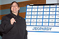 US Navy 050329-N-2115M-003 Operations Specialist 3rd Class Becky Wyskiel assigned to Naval Station Everett, Wash., keeps score during a Jeopardy style tournament.jpg