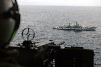 USS William H. Standley - Standley used as a target for Exercise Talisman Saber 2005