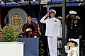 US Navy 100528-N-8273J-048 Chief of Naval Operations (CNO) Adm. Gary Roughead, middle, participates in the opening ceremony of the U.S. Naval Academy Class of 2010 graduation and commissioning ceremony at Navy-Marine Corps Memo.jpg