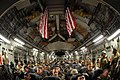 US Navy 101111-N-0318S-129 Seabees assigned to Naval Mobile Construction Battalion (NMCB) 3 are packed into a C-17 in preparation for a flight to K.jpg