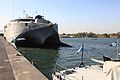 US Navy 120103-A-IP644-069 High Speed Vessel (HSV 2) Swift is pierside in Puerto Quetzal.jpg