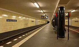 Image illustrative de l'article Bernauer Straße (métro de Berlin)
